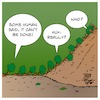 Cartoon: Impossible (small) by Timo Essner tagged impossible ants cooperation nature environment climate pair or perish cartoon timo essner
