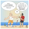 Cartoon: Les mers du monde surchauffent (small) by Timo Essner tagged mers,du,monde,oceans,temperatures,bouillabaisse,cartoon,timo,essner