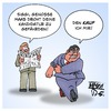 Cartoon: Rent a Sozi (small) by Timo Essner tagged heiko,maas,sigmar,gabriel,spd,gespräche,lobbying,lobbyismus,politiker,korruption,spenden,sponsoring,7000,euro,eur,cartoon,timo,essner