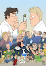 Cartoon: The Great Debate (small) by Timo Essner tagged the,great,debate,corona,covid19,bild,wissenschaft,science,drosten,kekule,streeck,merkel,lindner,laschet,söder,lauterbach,naidoo,hildmann,jebsen,kenfm,germany,lockdown,lockerungen,opening,pandemie,pandemic,gesundheit,health,wirtschaft,economy,politik,politics,dream,theater,inspiration,cartoon,timo,essner
