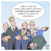 Cartoon: Toll Collect (small) by Timo Essner tagged toll,collect,hanns,karsten,kirchmann,tiefensee,ramsauer,andreas,scheuer,alexander,dobrindt,staatssekretär,schulz,verkehrsministerium,verkehr,verkehrsminister,maut,autobahn,lkw,mautsystem,lastwagen,deutsche,telekom,systems,daimler,missbrauch,korruption,cartoon,timo,essner