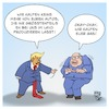 Cartoon: Trump vs. Altmaier (small) by Timo Essner tagged donald,trump,peter,altmaier,autoindustrie,deutschland,strafzölle,usa,gas,natural,lng,wirtschaftskrieg,mauer,maga,cartoon,timo,essner