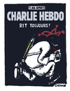 Cartoon: 1 Year later (small) by Carma tagged charlie,hebdo,anniversary