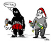 Cartoon: Beginner (small) by Carma tagged terrorism,new,years,bombs,feuerwerk