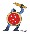 Cartoon: Italian Police (small) by Carma tagged italy,police,g8,diaz,genoa,2001