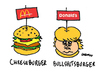 Cartoon: Donalds (small) by Carma tagged donald,trump,mcdonald