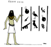 Cartoon: Egypt 2015 (small) by Carma tagged egypt,terrorism,jeroglifics