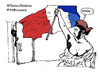 Cartoon: hashtag (small) by Carma tagged terror,in,paris,war,conflict,hashtag