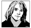 Cartoon: Kurt Cobain (small) by Carma tagged kurt,cobain,nirvana,music,grunge,rock,celebrities