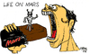Cartoon: Life On Mars (small) by Carma tagged mars