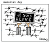 Cartoon: Memorial Day (small) by Carma tagged shoah,war,memorial,day,fight,conflicts,world,deprtation,dictatorship,injustice,history,ebraism