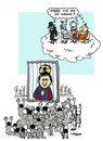 Cartoon: Messi...ah (small) by Carma tagged religion,messi,god,futball