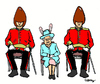 Cartoon: Royal Easter (small) by Carma tagged easter,queen,elyzabeth,uk,monarchy