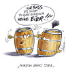 Cartoon: Fässer (small) by Hoevelercomics tagged fass,tap