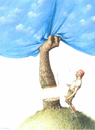 Cartoon: Man and Nature (small) by Agim Sulaj tagged man nature