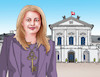 Cartoon: caputkluc (small) by kotrha tagged zuzana,caputova,new,slovak,president