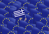 Cartoon: greeflag (small) by kotrha tagged eu,and,greece,flags