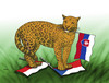 Cartoon: jaguarvlajka1 (small) by kotrha tagged land,rover,jaguar,slovakia,automobil