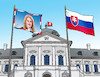 Cartoon: prezicaput (small) by kotrha tagged zuzana,caputova,new,slovak,president