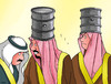 Cartoon: ropaci (small) by kotrha tagged oil,opec,price,freeze,world
