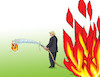 Cartoon: trumpohne (small) by kotrha tagged usa,trump,protests