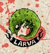 Cartoon: larvae (small) by maucho tagged larvae,larve,larca,cartoon,draw,monster,bones,drawing,sketches