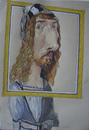 Cartoon: Albrecht Dürer (small) by SAPIENS tagged cartoon drawing colour