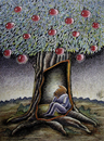 Cartoon: Apples (small) by kotbas tagged apple,prison,fruit