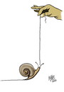 Cartoon: route (small) by kotbas tagged snail,road,route