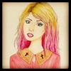 Cartoon: charlotte free (small) by naths tagged charlotte,free,model,pink,blonde,girl,fashion,top