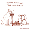 Cartoon: Deleted Scene (small) by puvo tagged film,movie,disney,susi,strolch,lady,tramp,spaghetti,love,liebe,romantik,dinner,date