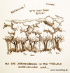 Cartoon: Jugendsprache. (small) by puvo tagged wald,wood,jugendsprache,language,kuckuck,cuckoo,youth,slang