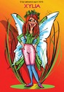 Cartoon: Kleines Elfchen Xylia (small) by Egon58 tagged elfen,frieden,fantasy