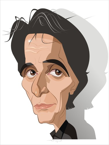 Cartoon: Al Pacino (medium) by FARTOON NETWORK tagged pacino,al,movie,star,caricature,films