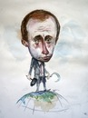 Cartoon: Putin (small) by FARTOON NETWORK tagged putin,politic