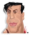Cartoon: Rammstein Till Lindemann (small) by FARTOON NETWORK tagged rammstein,till,lindemann,metal,rock