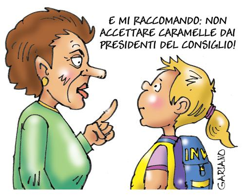 Cartoon: consiglio (medium) by massimogariano tagged berlusconi