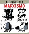Cartoon: marx vs berlusconi (small) by massimogariano tagged marx,berlusconi,politica,italia,italy