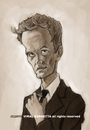 Cartoon: Caricature-Neil Patrick Harris (small) by vim_kerk tagged caricature,neil,patrick,harris,barney,stinson