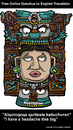 Cartoon: Archeology Revisited (small) by perugino tagged archeology,maya,precolumbian,art