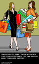 Cartoon: Oniomania (small) by perugino tagged psychology,shopping