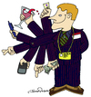 Cartoon: Best Salesman (small) by JohnnyCartoons tagged business,sales,conman