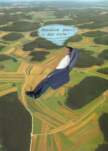 Cartoon: abflug (medium) by Andreas Prüstel tagged flugwesen,flugzeugunglück