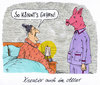 Cartoon: alterskreativ (small) by Andreas Prüstel tagged alter,senioren,sex,schweinemaske,cartoon,karikatur,andreas,pruestel