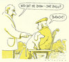Cartoon: armer hund (small) by Andreas Prüstel tagged burnout hund