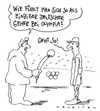 Cartoon: deutscher geher (small) by Andreas Prüstel tagged olympia,london,gehen,geher,interview