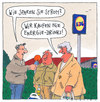 Cartoon: energysparer (small) by Andreas Prüstel tagged energie,energydrinks,energieeinsparung,discounter,interview