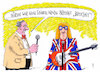 Cartoon: neuer hit (small) by Andreas Prüstel tagged brexit,brexhit,pop,brexshit,cartoon,karikatur,andreas,pruestel