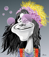 Cartoon: Janis Joplin (small) by Ulisses-araujo tagged janis,joplin