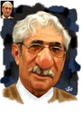 Cartoon: Anwer Qaradaghy (small) by handren khoshnaw tagged handren,khoshnaw,anwer,qaradaghy
